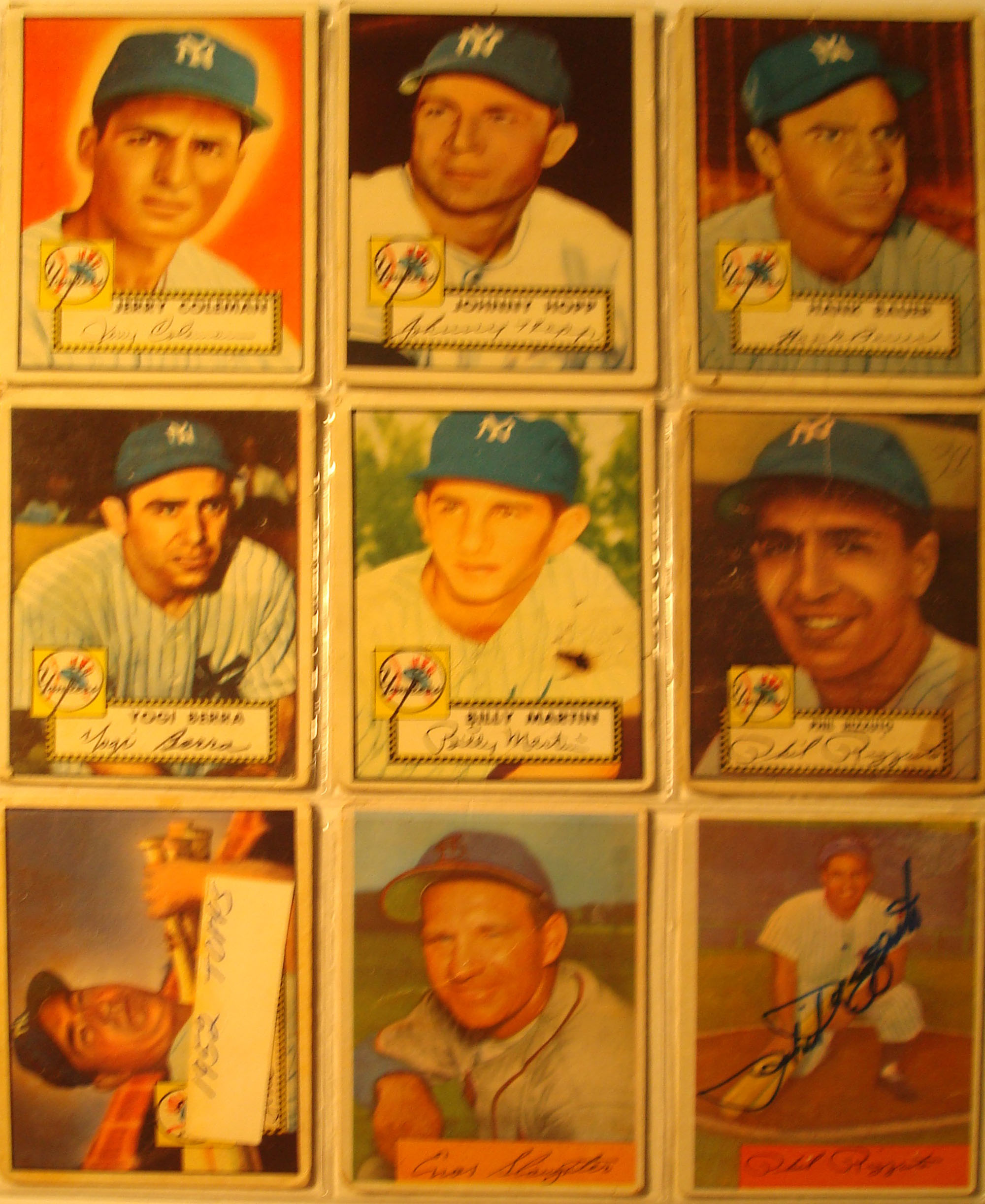 Bone Daddys New York Yankees Baseball Card Collection