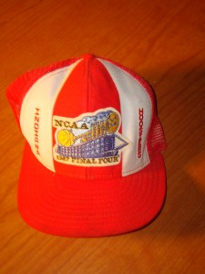 NCAAM - Official Cap 1987 NCAA Men's Basketball Final Four Indiana University at the New Orleans Superdome