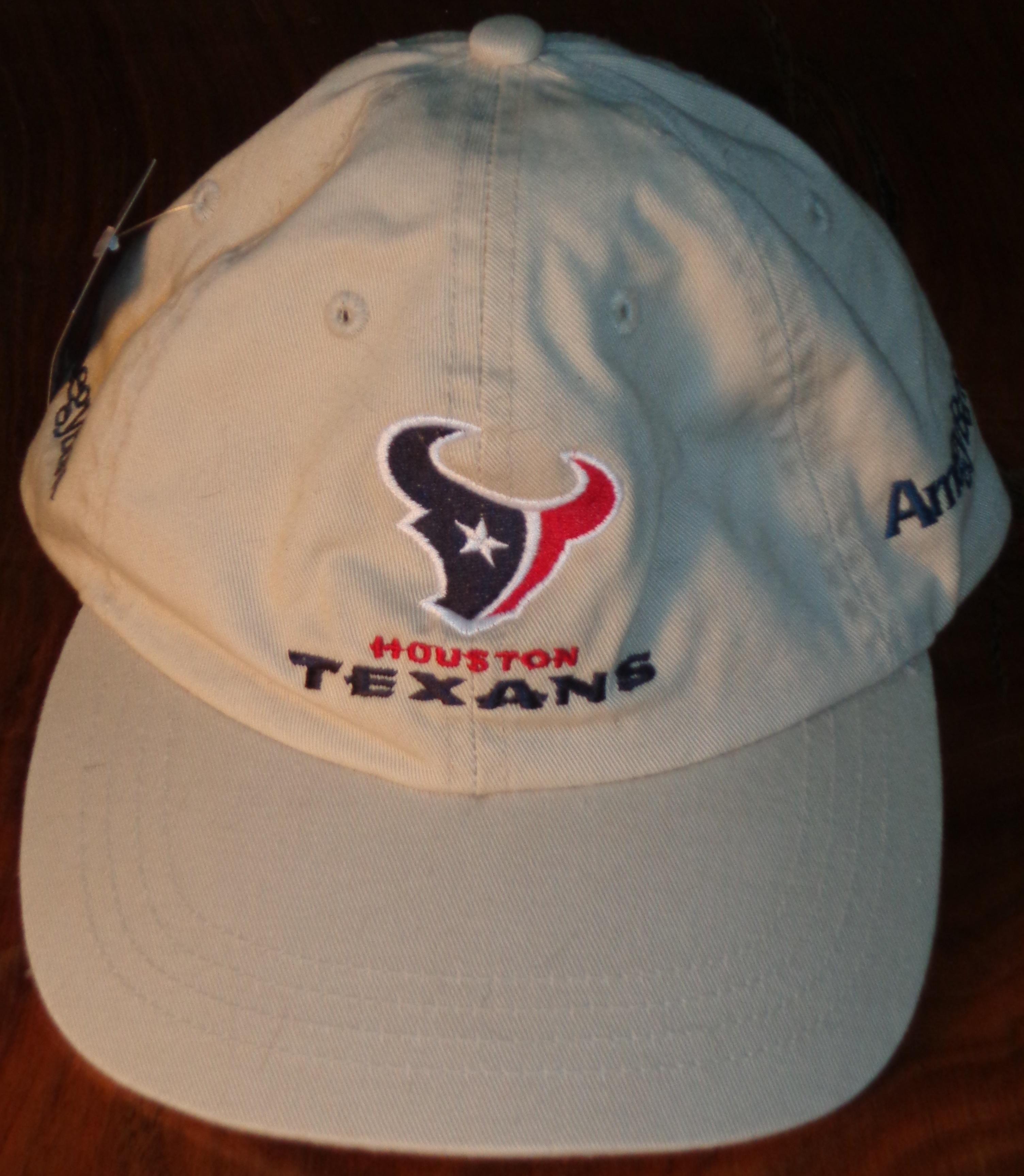 68235b3b9e3 NFL - Official Cap 2002 Houston Texans in their innaugural season in the  league