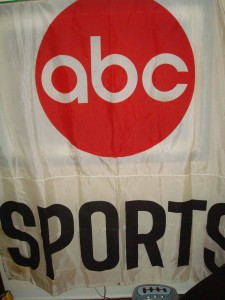 Official ABC Sports Banner at 1984 Los Angeles Olympic Games