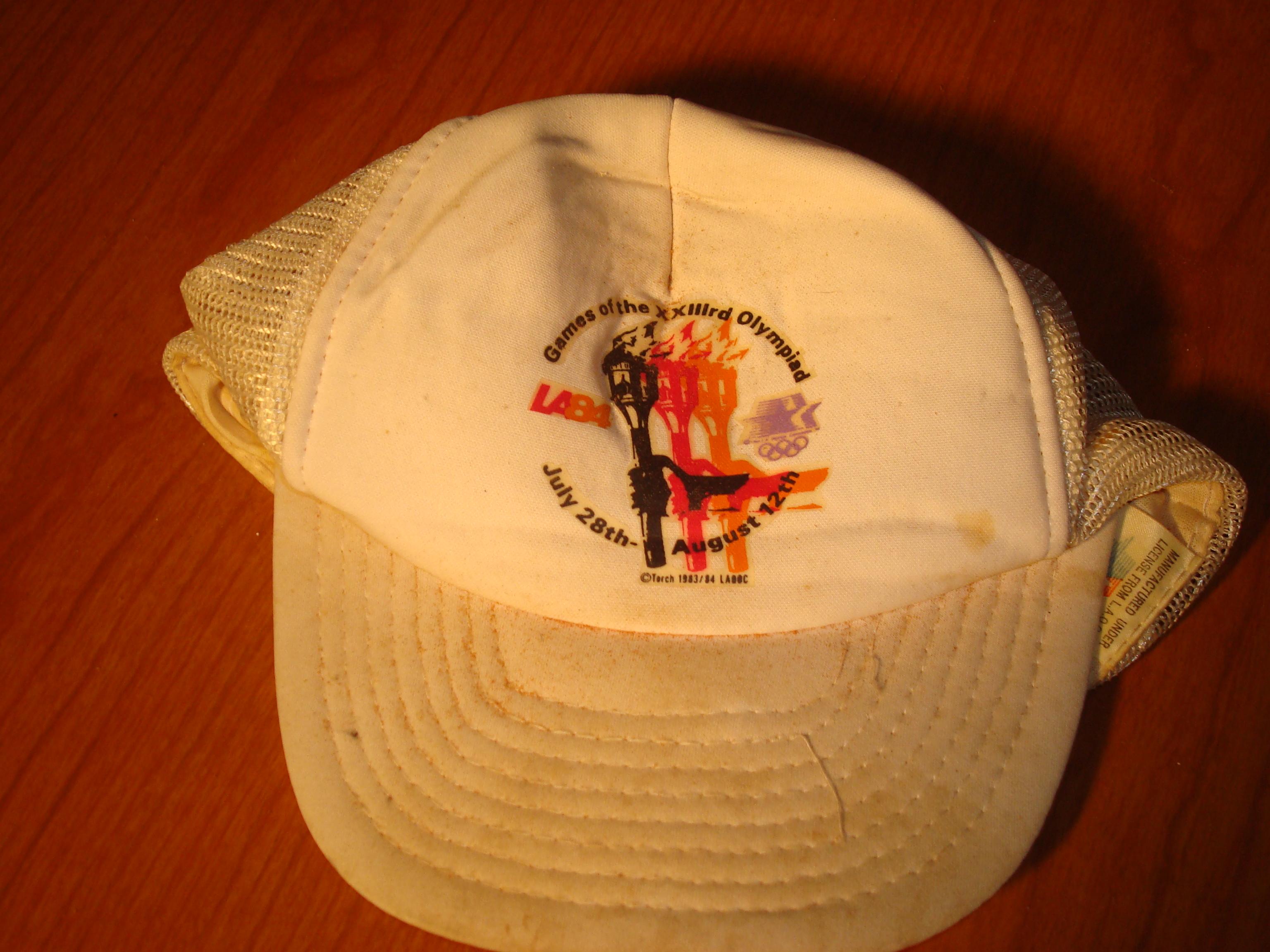 14eea7dfcc0 Bone Daddy s 1984 Los Angeles Summer Olympics Official Caps   Visor ...