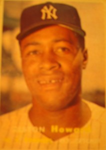 Original Baseball Card 1957 Topps New York Yankees C Elston Howard