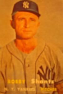 Original Baseball Card 1957 Topps New York Yankees P Don Larsen