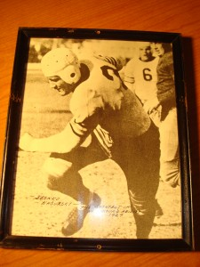Original Picture 1932 NFL Champion Chicago Bears All Pro Running Back Bronco Nagurski