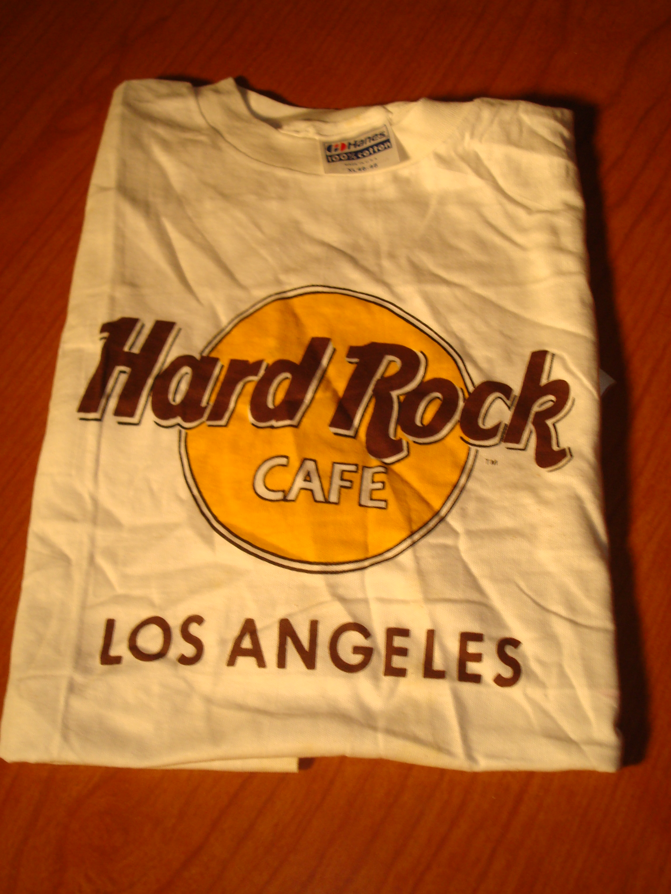 Hard Rock Cafe T Shirt Los Angeles