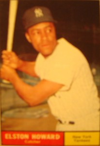 MLB - Original Baseball Card 1961 NY Yankees C Elston Howard