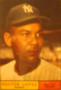 MLB - Original Baseball Card 1961 NY Yankees OF Hector Lopez