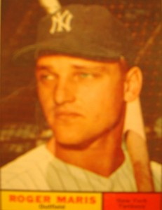 MLB - Original Baseball Card 1961 NY Yankees RF Roger Maris