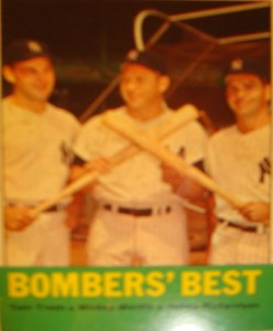 MLB - Original Baseball Card 1962 NY Yankees Bombers Best Moose Skowron, Mickey Mantle & Bobby Richardson