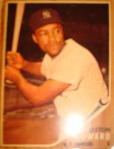 MLB - Original Baseball Card 1962 NY Yankees C Elston Howard