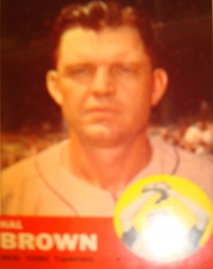 MLB - Original Baseball Card 1963 NY Yankees P Mike Brown