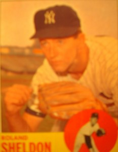 MLB - Original Baseball Card 1963 NY Yankees P Roland Sheldon