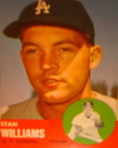 MLB - Original Baseball Card 1963 NY Yankees P Stan Williams