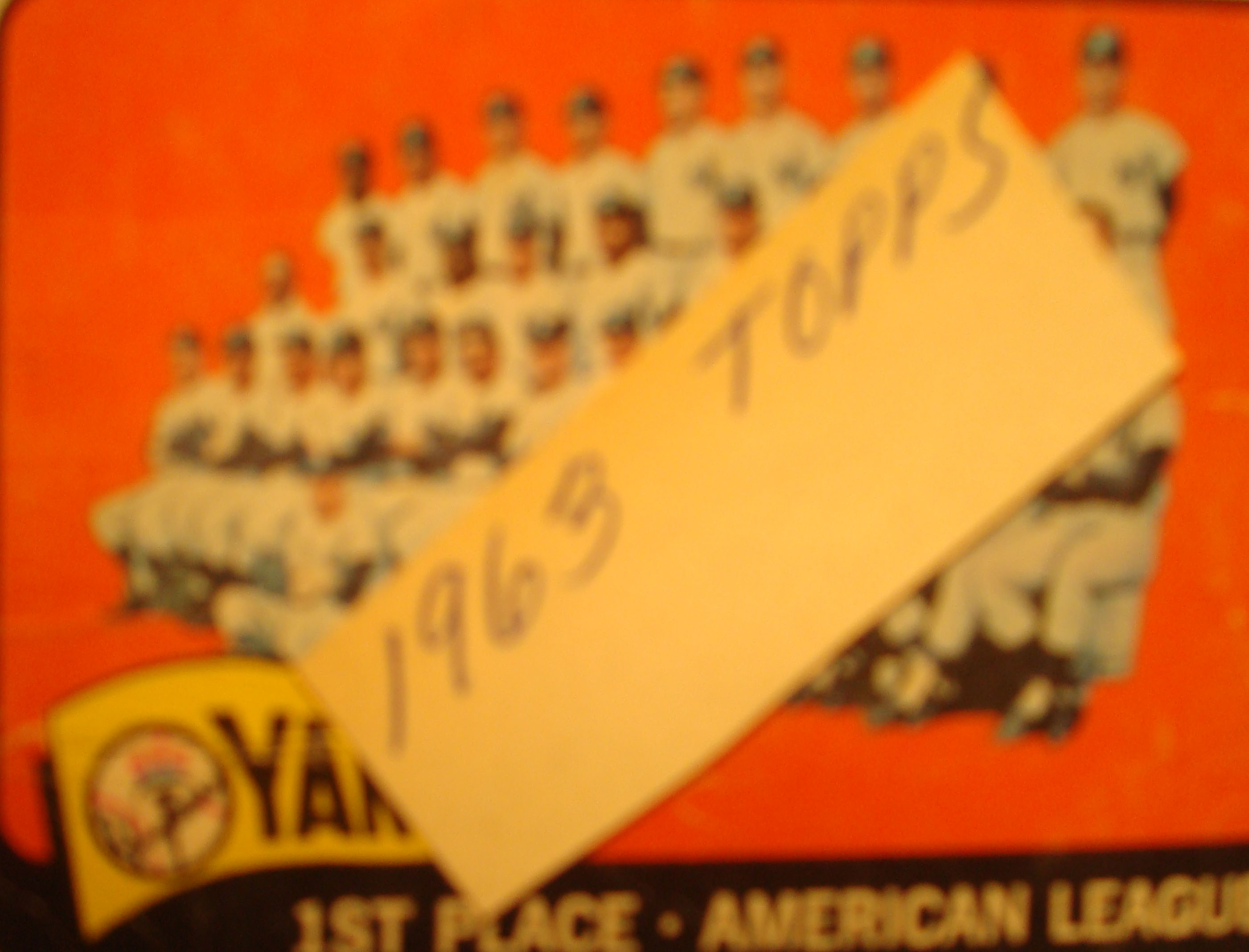 Bonne Daddy´s 1963 New York Yankees Baseball Collection Pieces ...