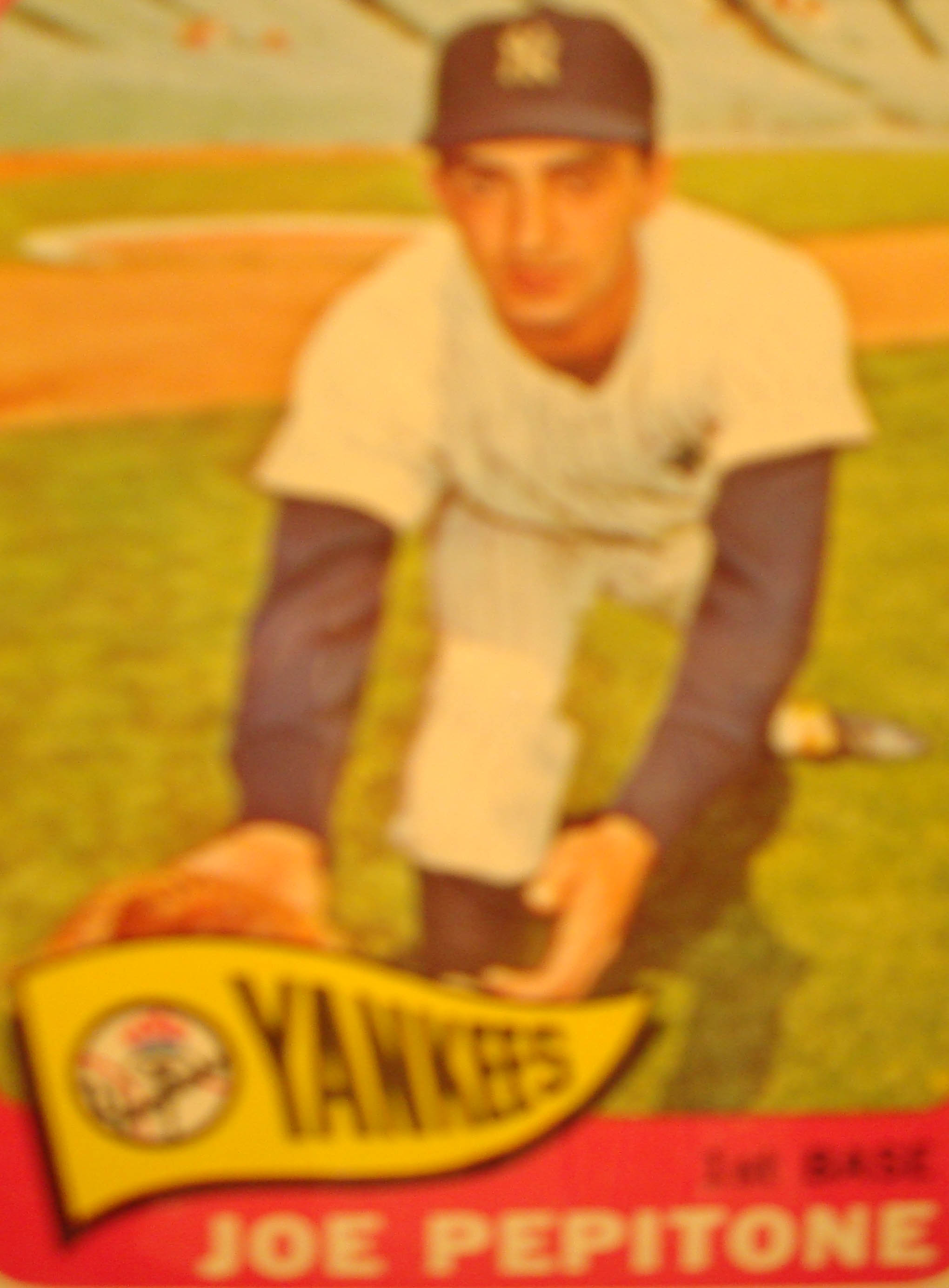 Bonne Daddys 1965 New York Yankees Baseball Card Collection Pieces
