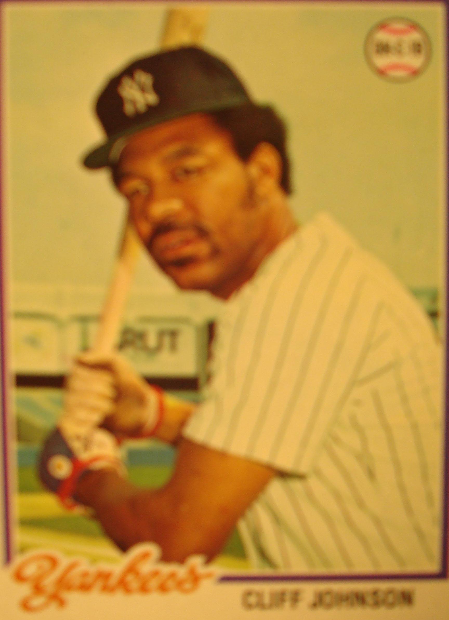 Bonne Daddys 1978 Topps New York Yankees Baseball Card