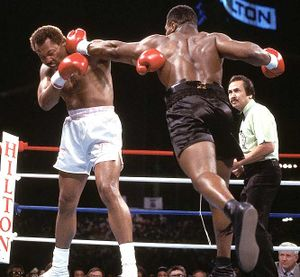 Boxing Heavyweight Title Fights Mike Tyson Vs Pinklon