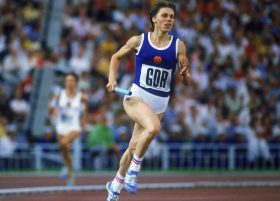 Track field 1985 iaaf world cup womens 400m 4 x for Koch 400m world record