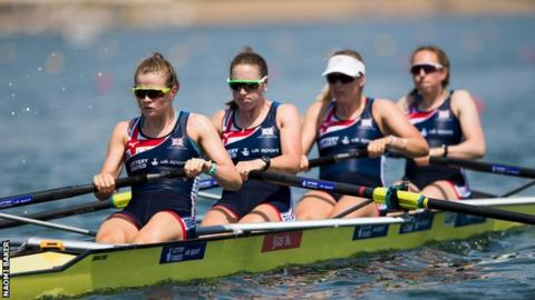 Olympics – 1984 – L A Games – Rowing – Womens 4 With Coxswain – ROM