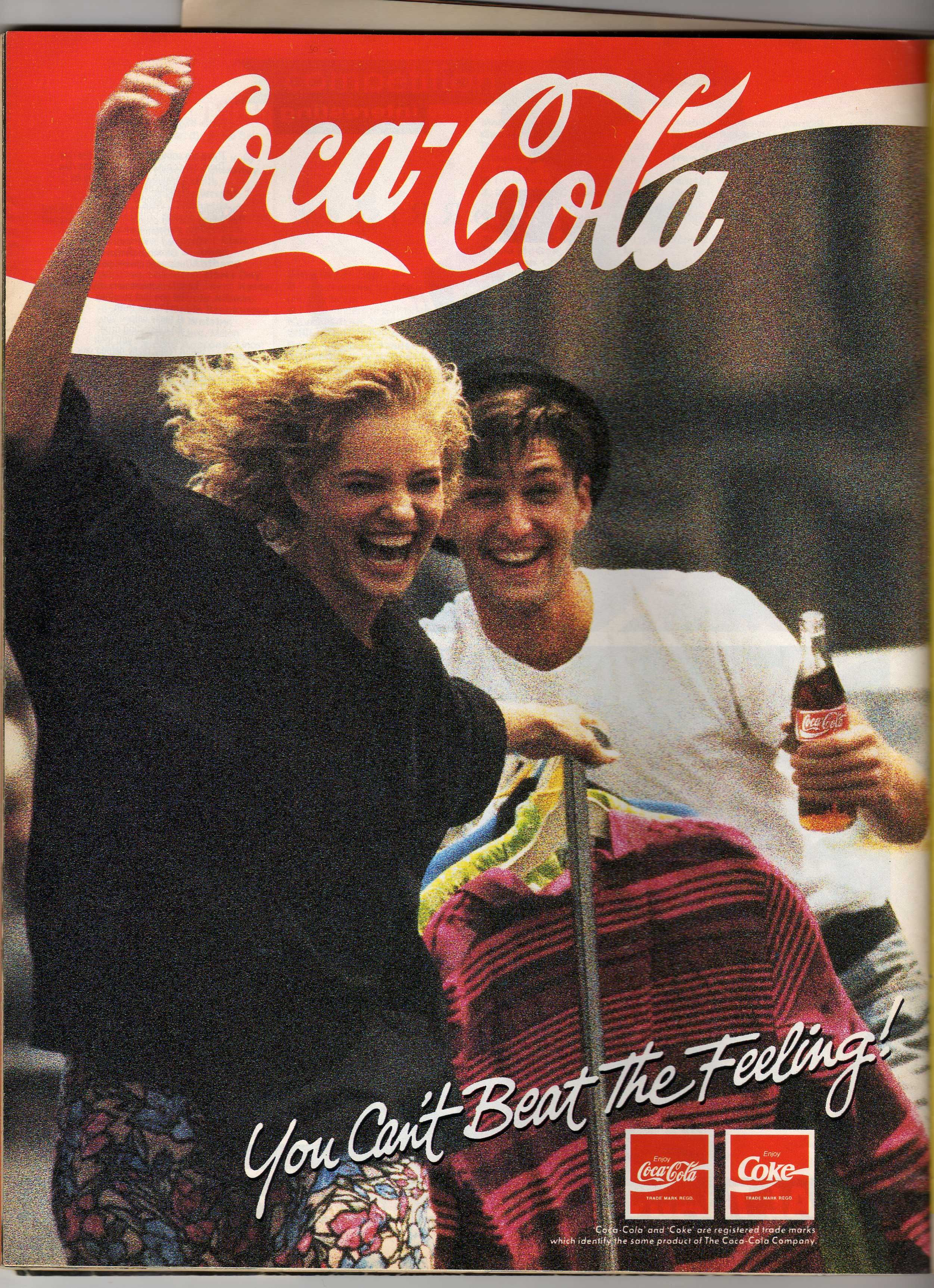 TV Ads – 1984 – Coca Cola Soda Pop + Pizza Hut Pizza