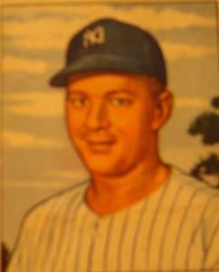 Original Baseball Card 1950 New York Yankees P Whitey Ford