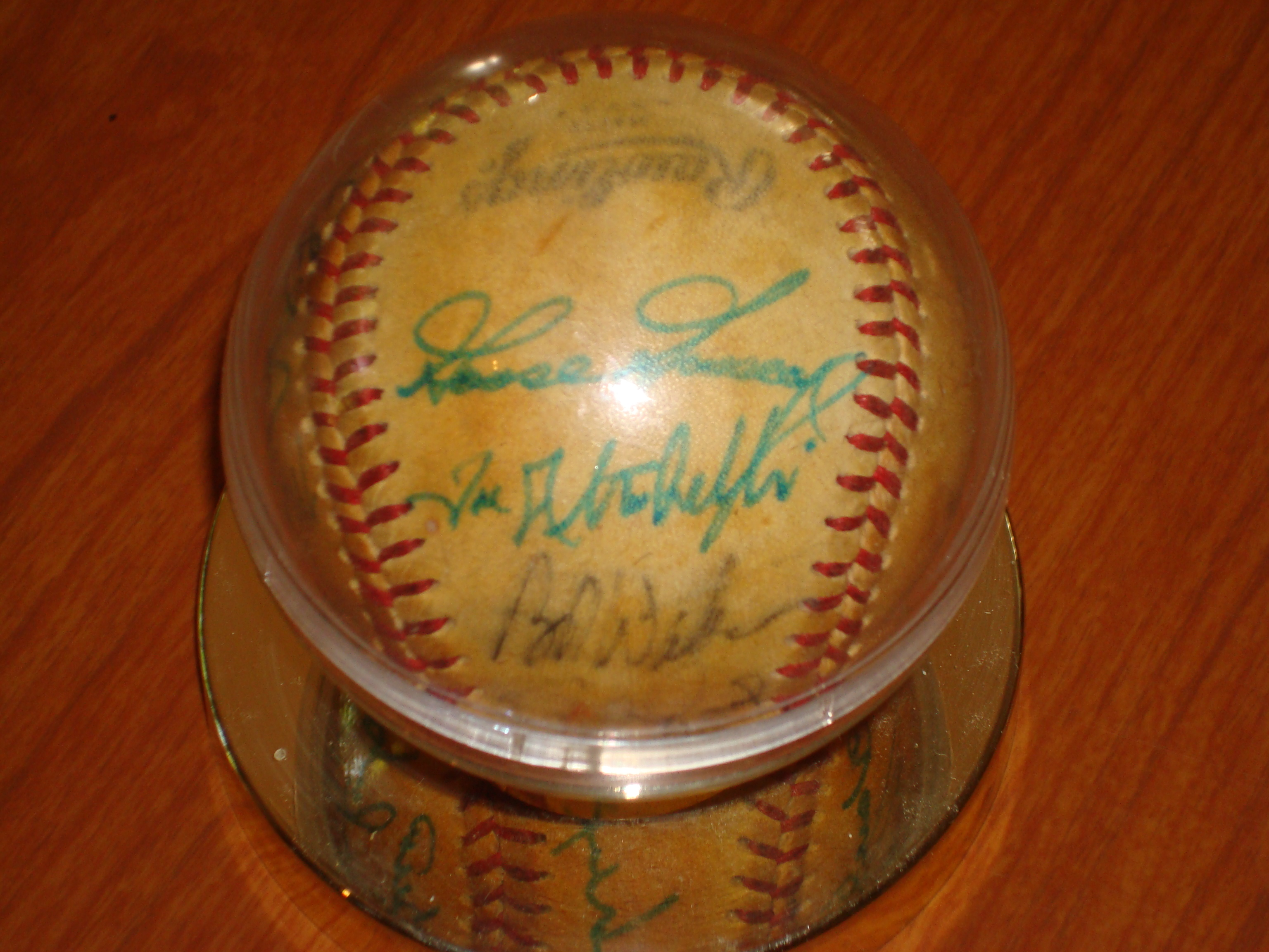 1978 Autographed New York Yankees Team Ball - Goose Gossage,
