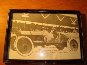 Original Picture May 31, 1911 of the 1st Inianapolis 500 Winner Ray Harroun in his Marmon Wasp at average speed of 74.59 mph