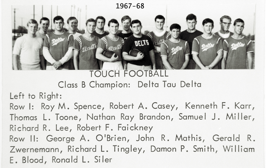 Photo of University Of Texas Intramural Wall Of Fame 1965-1970 Photos