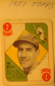 Original Baseball Card 1951 Topps New York Yankees SS Phil Rizzuto