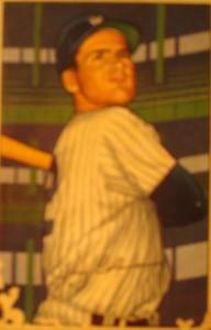 Original Baseball Card 1952 Bowman New York Yankees SS Jerry Coleman