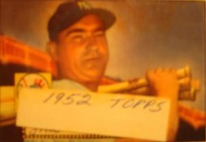 Original Baseball Card 1952 Topps New York Yankees 1B Johnny Mize