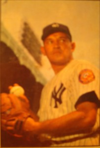 Original Baseball Card 1953 Bowman New York Yankees P Allie Reynolds