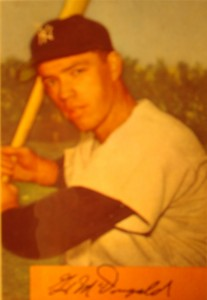 Original Baseball Card 1954 Bowman New York Yankees SS Gil McDougald