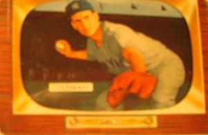 Original Baseball Card 1955 Bowman New York Yankees 2B Bobby Richardson