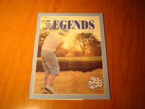 Official Program 1978 1st Liberty Mutual Legends of Golf Tournament