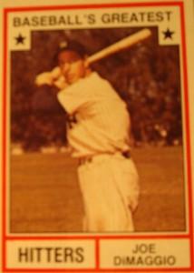 Original Baseball Card 1950 NY Yankees OF Joe DiMaggio