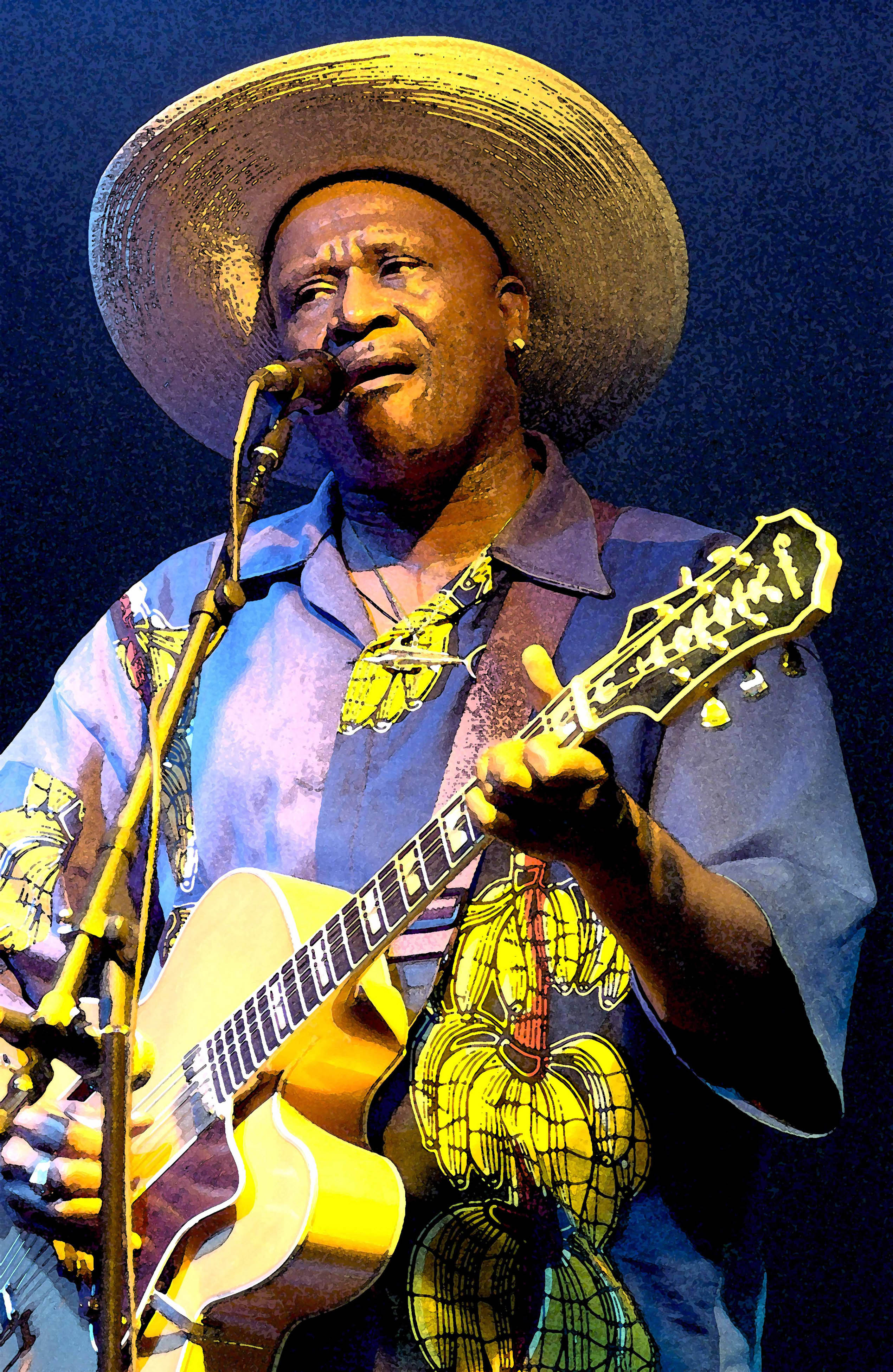 Photo of Taj Mahal Live at Austin City Limits Sings Slave Drive & Life is Beautiful