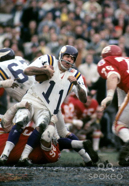 Photo of Vikings QB Joe Kapp's Career Was Played With No Holds Barred – imaportsphile