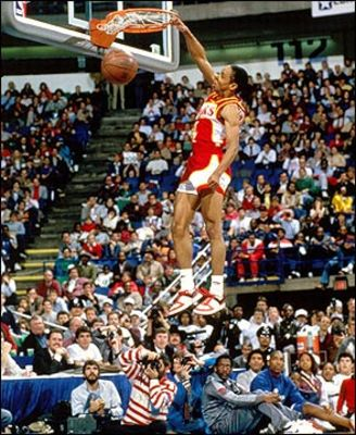 Photo of 1978 NBA All Star Game – Gatorade Slam Dunk Contest – Spud Webb Winner