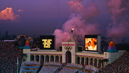 Photo of Bone Daddy's 1984 Los Angeles Summer Olympics Official Souvenirs & Memorabilia Collection Pieces