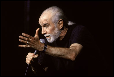 Photo of Comedian George Carlin Compares Baseball And Football