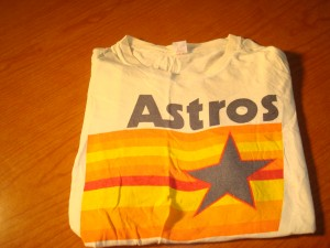 MLB - Original Souvenir T-shirt of 1986 MLB National League West Division Champion Houston Astros