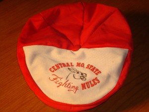 NCAAM - Official Cap 1965 Division II University of Central Missouri Fighting Mules from Warrensburg Missou