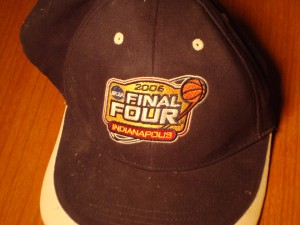 NCAAM - Official Hat 2008 Men's Final Four from Indianapolis, Indiana