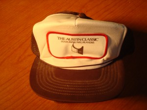 NFL - Official Cap 1981 The Ausin Classic Golf Tournament featuring NFL Players Earl Campbell, Ted Koy, Bob McKay, Brad Shearer & Alfred Jackson