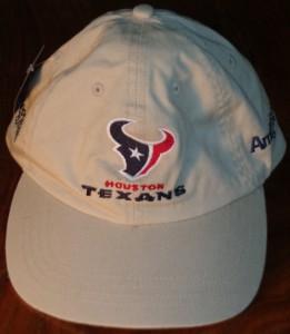 NFL - Official Cap 2002 Houston Texans in their innaugural season in the league