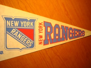 NHL - Official Pennant 1972 Eastern Conference Champion New York Rangers