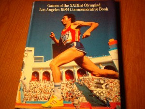 Official 1984 Los Angeles Games Commerative Book