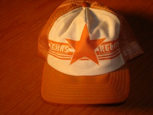 Official Cap 1983 NCAA Track & Field Texas Relays featuring Women's Miler Francie Larrieu-Smith