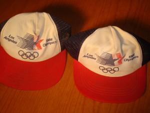 Official Caps 1984 Los Angeles Olympic Games
